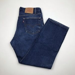 Vintage Levi's 505 High Waist Jeans 33 Re/Done